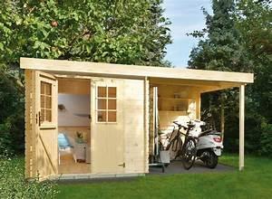 Geräteschuppen Mit Anbau : luoman gartenhaus lillevilla 329 bxt 360x200 cm 19 mm ~ Michelbontemps.com Haus und Dekorationen