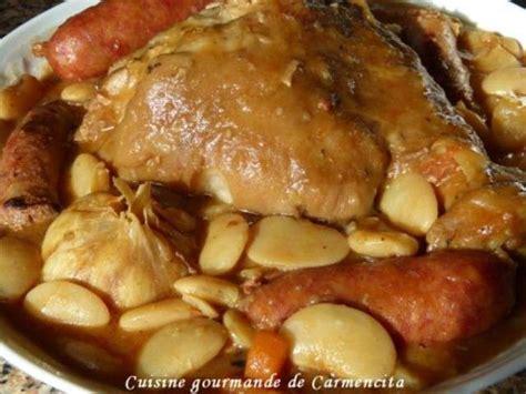 cuisine jarret de porc recettes de jarret de porc et saucisse