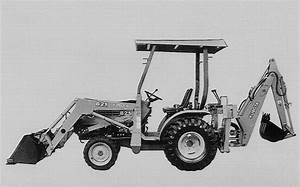 Kubota B21 Tl421 Bt751 Tractor  Front Loader  Backhoe