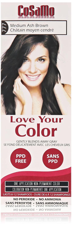 cosamo hair color cosamo your color light ash brown 775