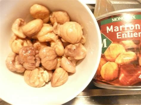 cuisiner des marrons en boite comment cuire marron en conserve