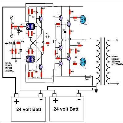 How Build Watt Pure Sine Wave Inverter Circuit