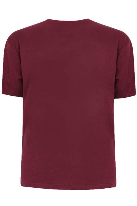 burgundy t shirt s badrhino burgundy basic plain crew neck t shirt