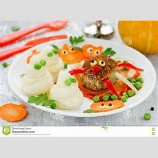 Spaß Und Gesunde Idee Für Kinder Essen Oder Abendessen Auf