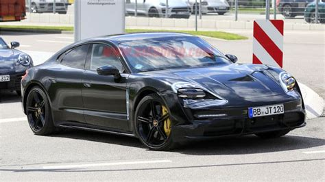 New production ready Porsche Taycan leaked - Geeky Gadgets