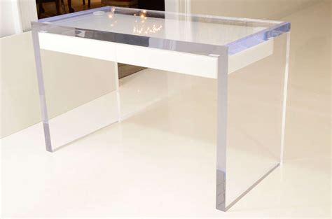 Large Lucite Writing Desk With Drawers At 1stdibs. Floating Top Desk. Writer At Desk. Round Mid Century Coffee Table. Clamping Table. Cheap Desks Online. Amazon Office Desk Furniture. Computer Tray For Desk. Standing Desk And Chair
