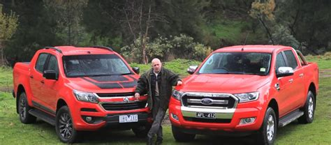 future ford trucks ranger vs colorado test is a preview of the future ford