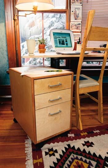 rolling file cabinet plans woodwork city