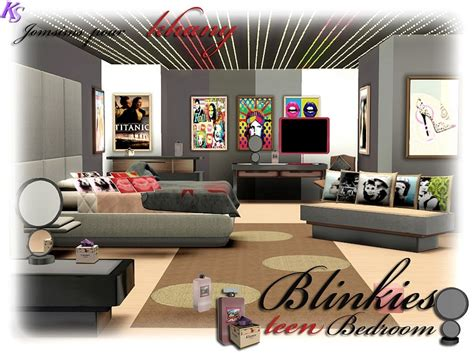 chambre sims 3 khany sims chambre blinkies pour ado sims 3 blinkies