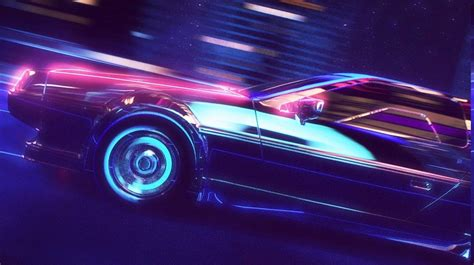 80s Neon Car Wallpaper by Neon Car Wallpapers Wallpaper Cave