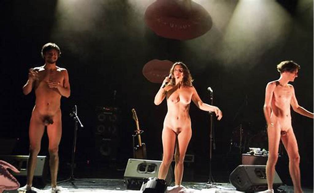 #Naked #Brazilian #Band #On #Stage