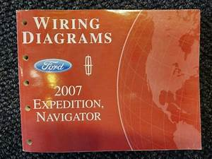 2007 Ford Expedition Navigator Service Department Electrical Wiring Diagram