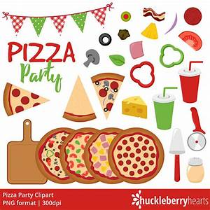 Pizza Clipart Pizza Party Clip Art Pizzeria Italian