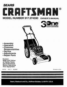 33 Craftsman Riding Lawn Mower Parts Diagram