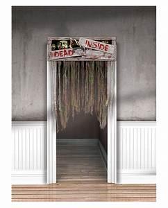 Vorhang Tür Wärmeschutz : t r vorhang dead inside f r halloween gruselige dekorationen karneval universe ~ Orissabook.com Haus und Dekorationen