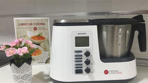 cuisine lidl funcionamiento monsieur cuisine plus silvercrest lidl