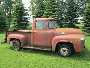 1956 Ford F100 Pickup 1952 1953 1954 1955 Rat Rod F1 F2 F3 F250 Patina