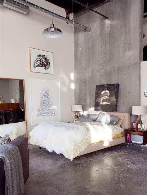 examples  amazing concrete bedroom walls