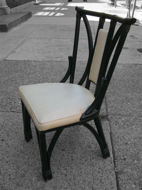 uhuru furniture collectibles black rattan dining chair