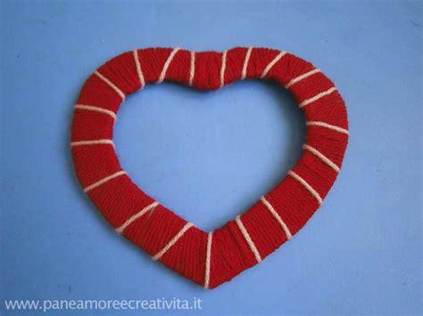 cornice in cartone lavoretto di san valentino le cornici da creare con il