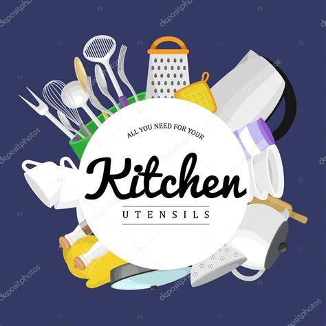 dessin d ustensiles de cuisine icônes d ustensiles de cuisine vecteur ensemble dessin animé cuisine ustensile collection