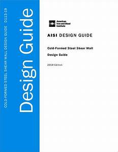 Manuals And Design Guides  U2013 American Iron And Steel