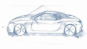 Car Sketch Perspective One Point Fundamentals BK Sketch
