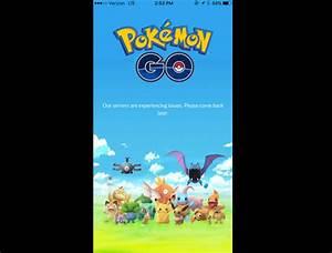 pokemon go servers down images