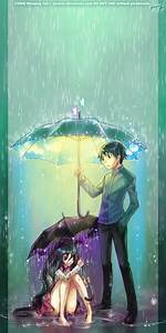 Come Under My Umbrella by yuumei on DeviantArt