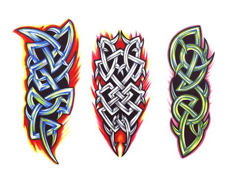 prince tattoo tribal colorido