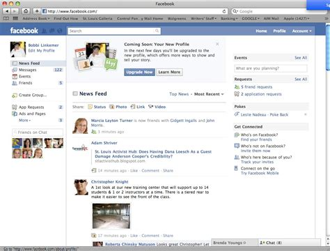 Getting Around Your Facebook Home Page