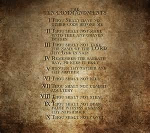 10 Ten Commandments