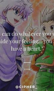 #emotions #emotion #hunterxhunter #anime #animequote # ...