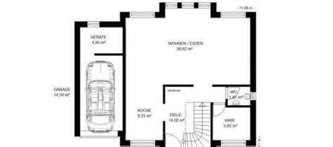 haus mit integrierter garage grundriss ᐅ wandelbare stadtvilla mit integrierter garage
