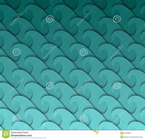 seamless wave pattern stock vector image  illustration