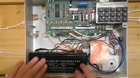 change    battery   optima xm burglar