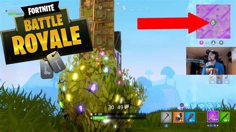 bush  tower   epic game   fortnite battle