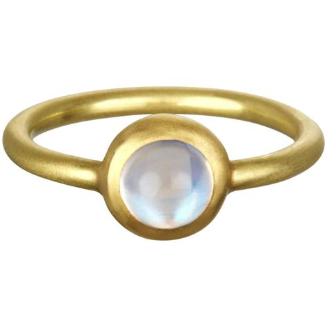 bulgari moonstone metropolis ceylon moonstone gold ring for sale at 1stdibs