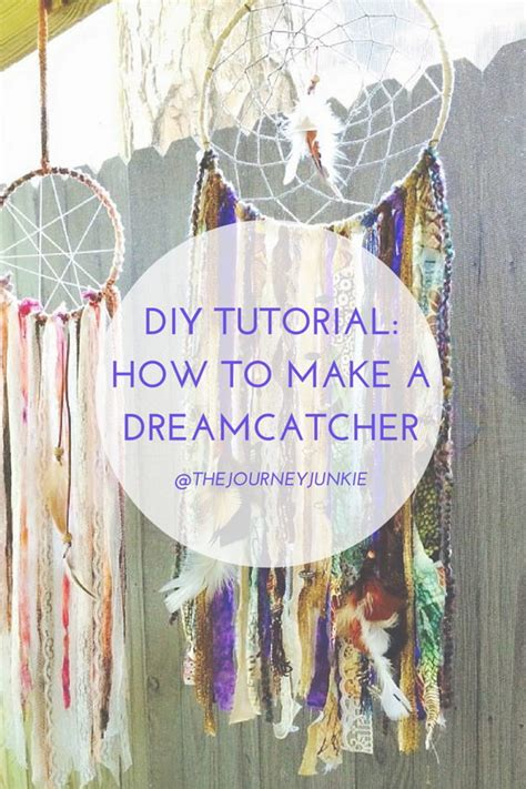 DIY Project Ideas & Tutorials: How to Make a Dream Catcher of Your Own - Hative