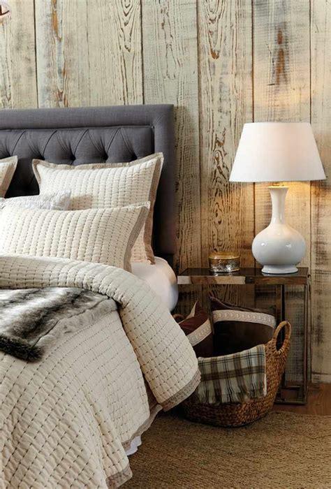 chambre cocooning déco cocooning hiver coussins couvertures et meubles