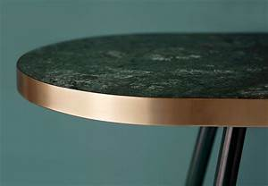 Circle Light Mirror Band Marble Dining Table Bethan Gray Design