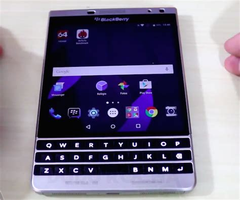 blackberry android a blackberry passport with android lollipop has been shown