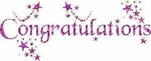 Congratulations - Free animation (animated gif)