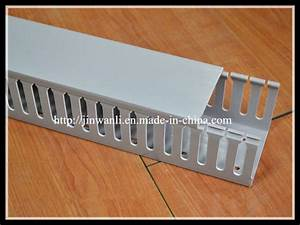 China Slotted Pvc Electrical Trunking Wiring Cable Duct
