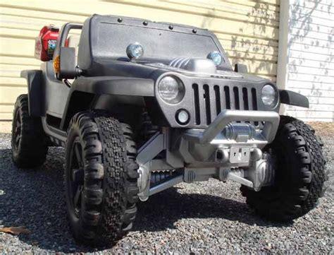Modified Power Wheels Jeep Hurricane Mods Pics Ideas