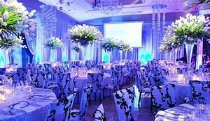 Wedding Reception Decorations Blue And Orange