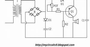 power supply failure alarm circuit without battery backup With alarm power supply