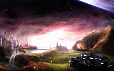 main menu background wallpaper image sevenor
