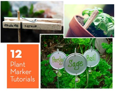 roundup 12 diy plant marker tutorials 187 curbly diy