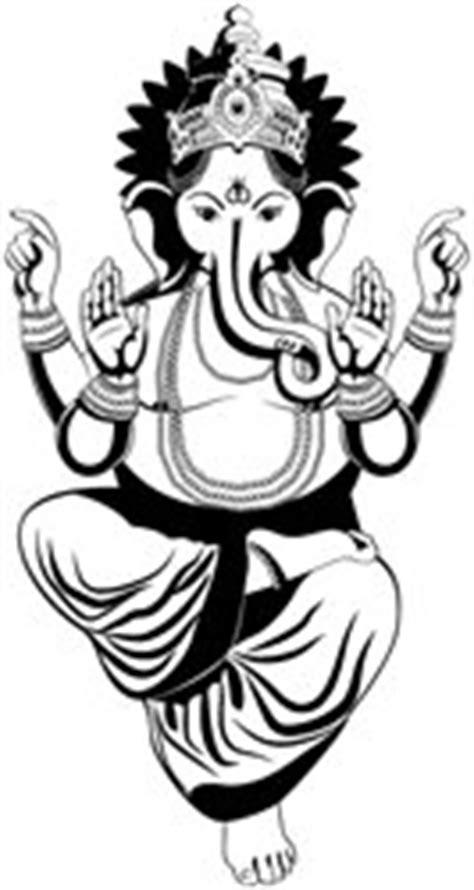 Blessing Hindu god ganesh , Vinyl stickers , sticker